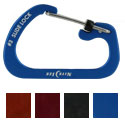 Nite Ize SlideLock Carabiner - Aluminum with Slide-to-Lock Design - #3 - Multiple Colors