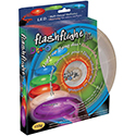 Nite Ize Flashflight Jr. LED Flying Disc - 8-inch - Includes 2 x CR2016s - Disc-o (FFJ-08-07)